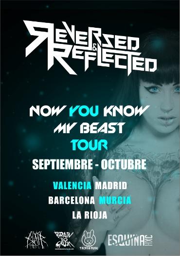 CARTEL 370x525 Reversed & Reflected anuncian su gira española
