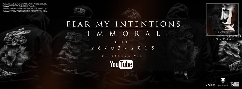 Fear my intentions lanzar en marzo su nuevo ep immoral - Exclusivas fecar ...