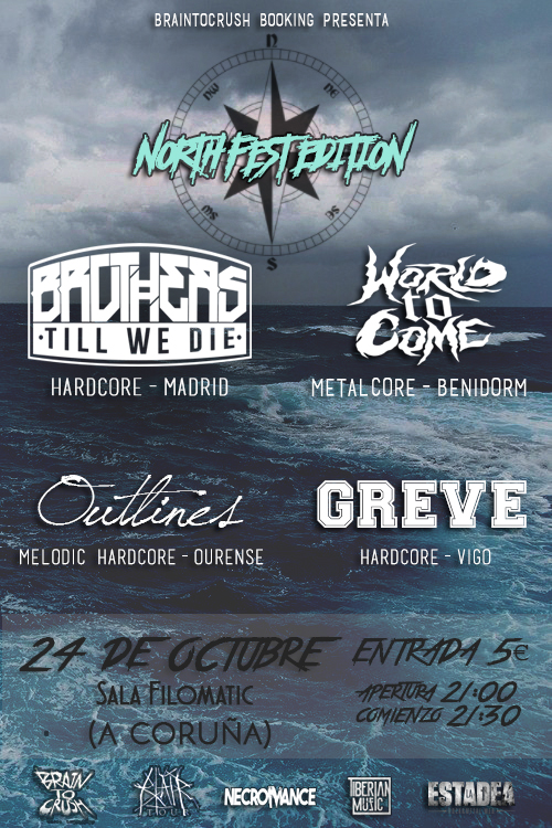cartel brain norte BrainToCrush North Fest Edition